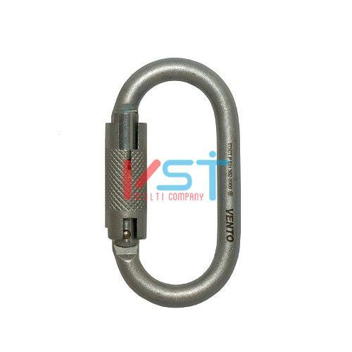 Карабин VENTO СТАЛЬНОЙ ОВАЛ АВТОМАТ с байонетной муфтой keylock (vpro 0010)