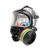 Маска полная (респиратор) SPIROTEK FM9000 мт. химостойкий мат Scott Procomp® мал.133-0105-02