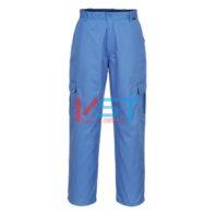 Антистатические брюки Portwest AS11 голубые