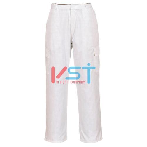 Антистатические брюки Portwest AS11 белые