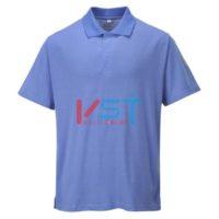 Антистатическая рубашка-поло Portwest AS21 голубая