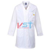 Антистатический халат Portwest AS10 белый