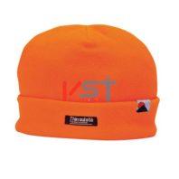 Шапка флисовая с подкладкой PORTWEST INSULATEX HA10 оранжевая