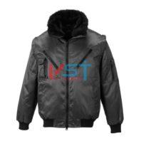 Куртка PORTWEST ПИЛОТ PJ10 черная