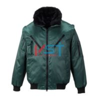 Куртка PORTWEST ПИЛОТ PJ10 зеленая