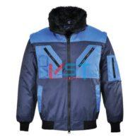 Куртка двухцветная PORTWEST ПИЛОТ PJ20 темно-синяя