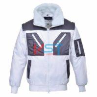 Куртка двухцветная PORTWEST ПИЛОТ PJ20 белая