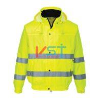 Куртка-бомбер светоотражающая PORTWEST S161