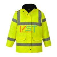 Куртка светоотражающая женская PORTWEST S360 желтая