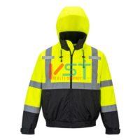 Куртка 2 в 1 светоотражающая премиум серии PORTWEST ПИЛОТ S364