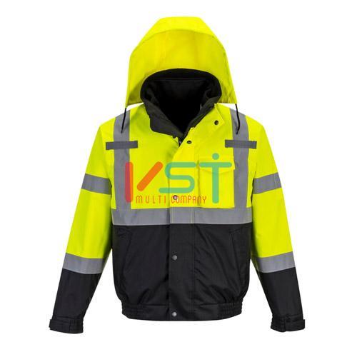 Куртка-бомбер светоотражающая 3 в 1 премиум серии PORTWEST S365