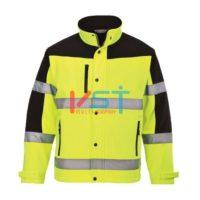 Куртка двухцветная из софтшелла (3 сл) PORTWEST S429