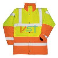 Куртка контрастная светоотражающая PORTWEST S466 желтая