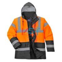 Куртка светооражающая двухцветная PORTWEST S467 оранжевая
