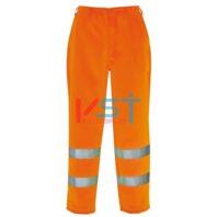 Брюки светоотражающие полихлопковые PORTWEST E041 оранжевые