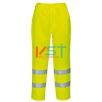 Брюки светоотражающие полихлопковые PORTWEST E041 желтые