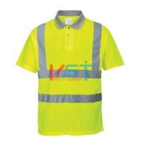 Рубашка-поло светоотражающая PORTWEST S177 желтая