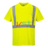 Футболка светоотражающая с карманом PORTWEST S190 желтая