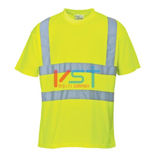 Футболка светоотражающая PORTWEST S478 желтая