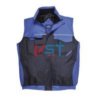 Жилет двухцветный PORTWEST S560 темно-синий/синий
