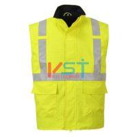 Жилет светоотражающий антистатичный водозащищенный FR PORTWEST BIZFLAME S776 желтый