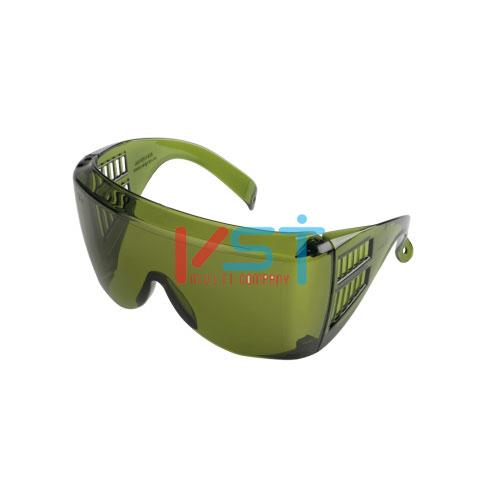 Очки защитные открытые АМПАРО ЛЮЦЕРНА зеленые