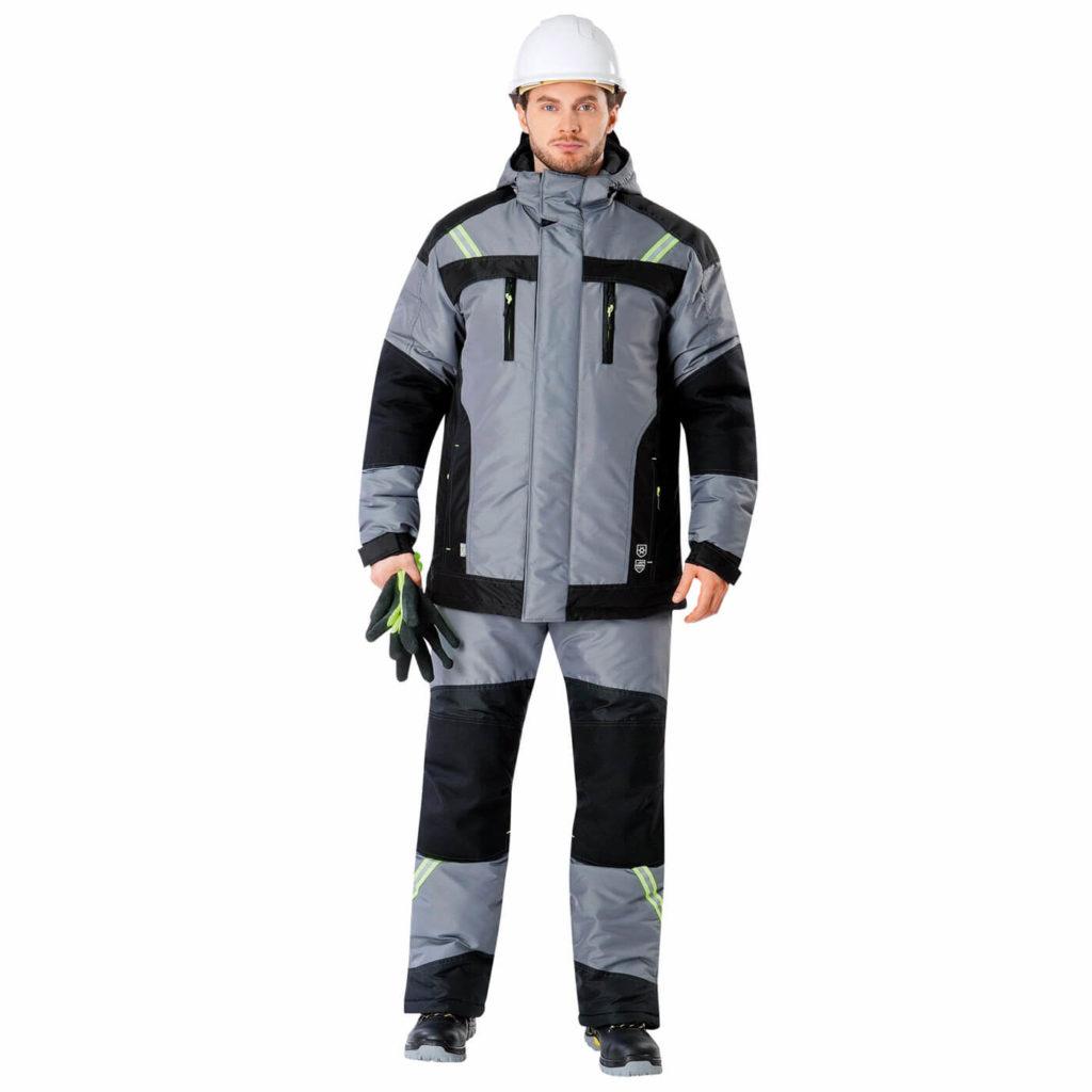 Куртка УРАН утепленная мужская зимняя