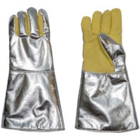 Перчатки с крагами пятипалые ALWIT 500º С / 1300º С 52-8669.06/836.0