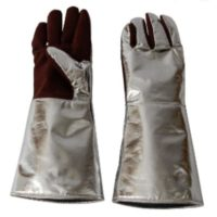 Перчатки с крагами пятипалые ALWIT 250º С / 1300º С 52-8959.01/836.0