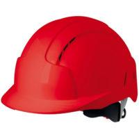 Каска защитная JSP ЭВОЛАЙТ AJB170-000-600 с храповиком и вентиляцией красная