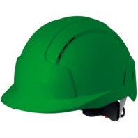 Каска защитная JSP ЭВОЛАЙТ AJB170-000-300 с храповиком и вентиляцией зеленая