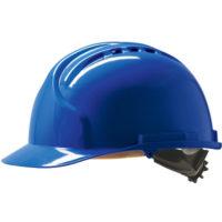 Каска защитная JSP МК7 с вентиляцией синяя