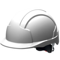 Каска защитная JSP ЭВОЛАЙТ AJB170-000-100 с храповиком и вентиляцией белая