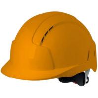 Каска защитная JSP ЭВОЛАЙТ AJB170-000-800 с храповиком и вентиляцией оранжевая