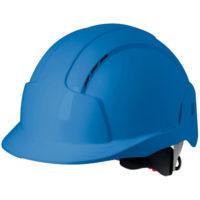 Каска защитная JSP ЭВОЛАЙТ AJB170-000-500 с храповиком и вентиляцией синяя