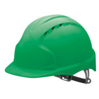 Каска защитная JSP ЭВО 2 AJF030-000-300 с вентиляцией зеленая