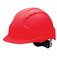 Каска защитная JSP ЭВО 3 AJF170-000-600 с храповиком и вентиляцией красная