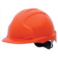 Каска защитная JSP ЭВО 3 AJE170-000-800 с храповиком оранжевая