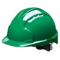 Каска защитная JSP ЭВО 3 AJE170-000-300 с храповиком зеленая