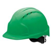 Каска защитная JSP ЭВО 3 AJF170-000-300 с храповиком и вентиляцией зеленая