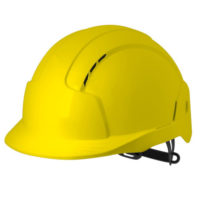 Каска защитная JSP ЭВОЛАЙТ желтая