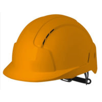 Каска защитная JSP ЭВОЛАЙТ оранжевая