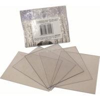 Комплект покровных стёкол (110х90) к щитку сварщика РОСОМЗ 00230