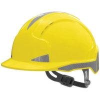 Каска защитная JSP ЭВОЛАЙТ CR2 с вентиляцией желтая AJB160-400-200