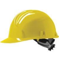 Каска защитная JSP MK3 с храповиком желтая AHC130-000-200
