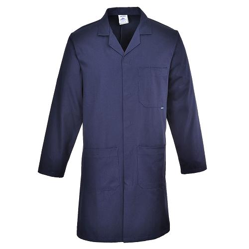 Халат рабочий мужской PORTWEST C851 темно-синий
