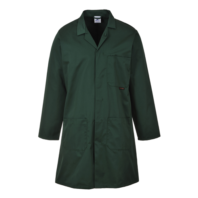 Халат рабочий мужской PORTWEST 2852 темно-зеленый