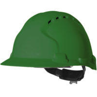 Каска защитная JSP ЭВО 8 с вентиляцией зеленая AHU150-000-300