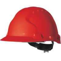 Каска защитная JSP ЭВО 8 красная AHS150-000-600