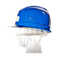 Каска защитная UVEX Шахтер 9755 синяя